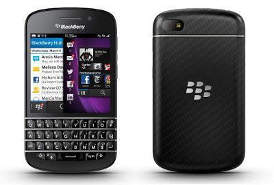 BlackBerry Q10, el primer BlackBerry 10 con teclado QWERTY