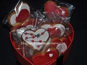 Galletas Valentín hechas fondat
