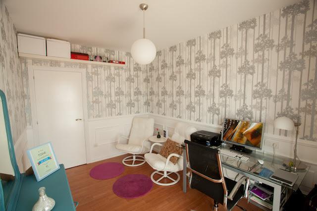 Diy las paredes con molduras x4duros de yahoo paperblog - Molduras de corcho ...