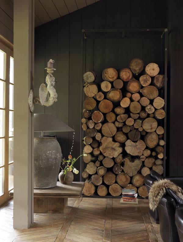 Idílica cabaña bajo un manto de nieve   paperblog