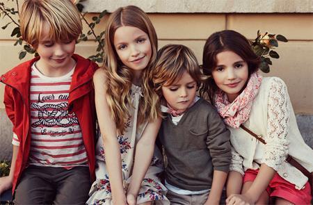 Massimo Dutti niños, colección primavera 2013
