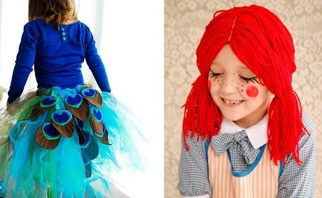 C mo hacer disfraces caseros para carnaval paperblog for Fotos originales de bebes para hacer en casa
