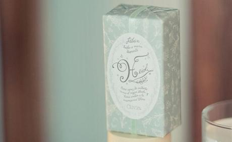 jabón Heidi Olivia Soaps, una cosmética muy natural