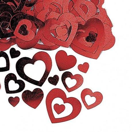 confeti especial para San Valentín