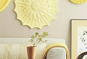 Rosetones en la pared paperblog - Rosetones de escayola ...