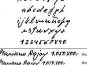 caso Bárcenas tiene propia fuente caligráfica: Corrup Script