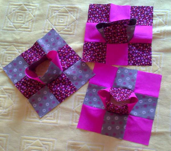 TUTORIAL CUBO COJIN PATCHWORK