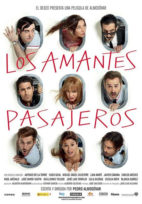 """Nuevo cartel de """"Los amantes pasajeros"""""""