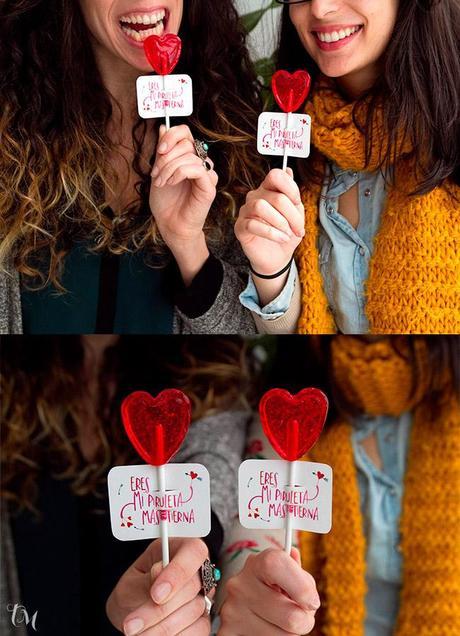 piruletas san valentin 1 Ideas para San Valentín: Mi piruleta más tierna