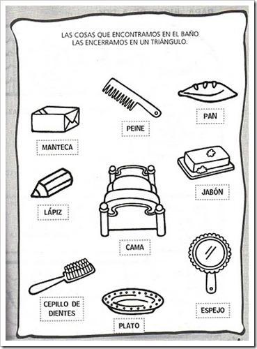Imagenes de objetos del ba o for Cosas del bano con b