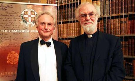 ¿Religión en el s. XXI? la fe de Rowan Williams 'vence' al ateo Richard Dawkins