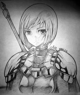 Bocetos Claymore