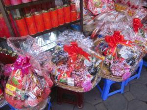 Cestas de Navidad que se regalan durante estos días de las Tet Holidays