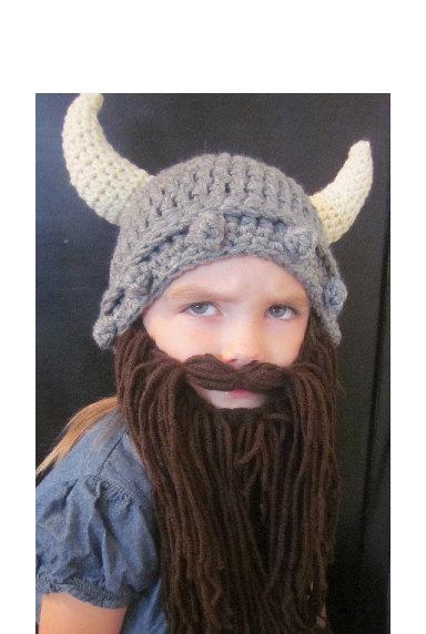 gorros niños divertido de vikingo