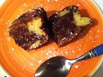 Brownie Doble De Chocolate Y Queso