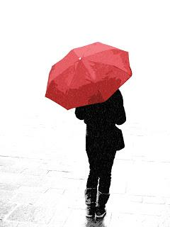 Mi paraguas rojo