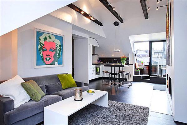 Departamento small apartment smart tel aviv apartment - Casas estilo escandinavo ...