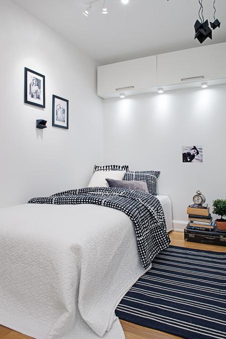 Mini piso de 40 m de estilo escandinavo paperblog for Piso 40 metros ikea