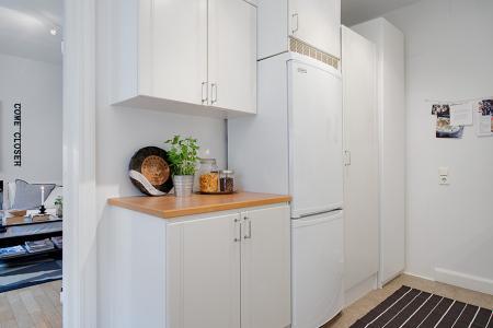 Mini piso de 40 m de estilo escandinavo paperblog - Muebles pequenos ikea ...
