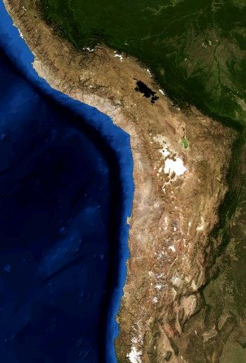 Desierto Atacama Chile Planta Parque Solar Paneles Fotovoltaicos Smart Grid mapa