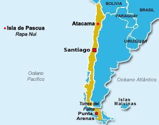 Desierto De Atacama Mapa America.4 Dias Por El Desierto De Atacama Dia 1 Te Lo Cuento En