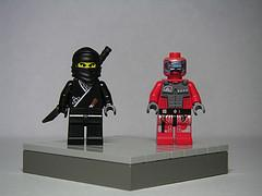 Ninja vs. Robot: Fight!