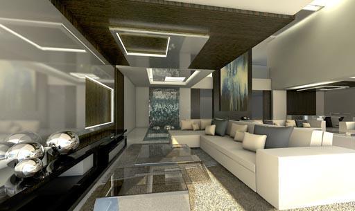 Nueva propuesta de interiorismo para el sal n principal de for Interiorismo salones