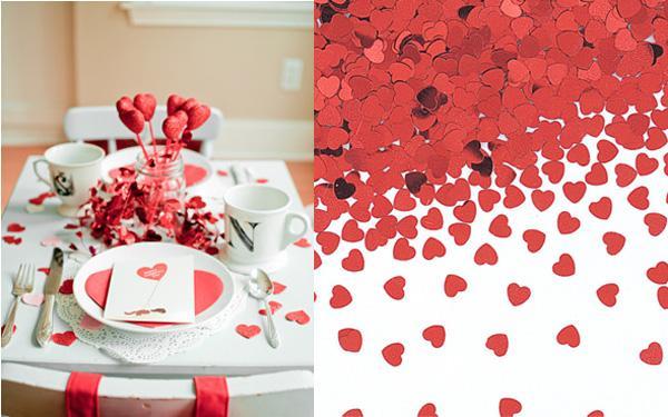 Decoraci n decoracion ideas para decorar la mesa en san for Decoracion mesa san valentin