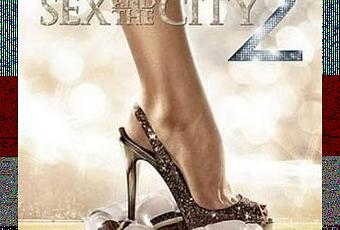Sex and the city 2 poster.
