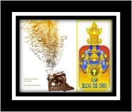 """Premio Dardo y Blog de Oro"""