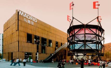 El Pabellón de Madrid en Expo 2010 Shanghái en apoyo la internacionalización de sus empresas patrocinadoras