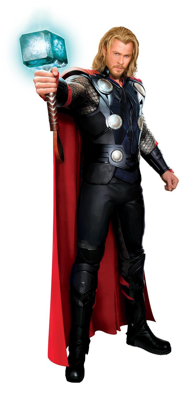 Arte conceptual de Chris Hemsworth como Thor