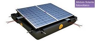 Un ingeniero agrónomo valenciano diseña una cubierta flotante fotovoltaica que evita la evaporación del agua