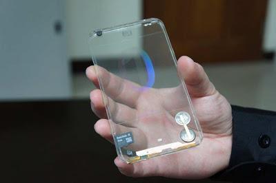 El teléfono transparente está más cerca de lo que pensamos
