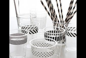 C mo decorar vasos de pl stico para una fiesta paperblog - Decorar vasos plasticos para cumpleanos ...