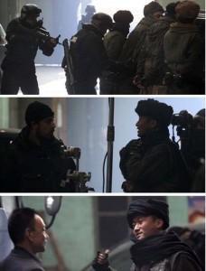 Imágenes del rodaje de Iron Man 3 en China