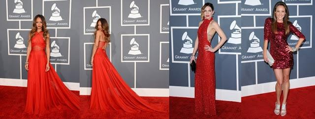 Grammys: Grammy 2013: Winners And Red Carpet
