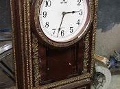 Reloj paredSe trata rehabilitación puesta v...