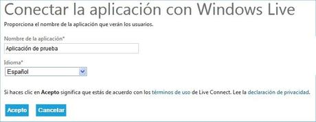 Microsoft Live Oauth Connect
