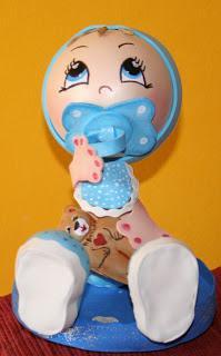 FOFUCHO BEBE  Ideal Para Regalar En Baby Shower Hecho Totalmente En