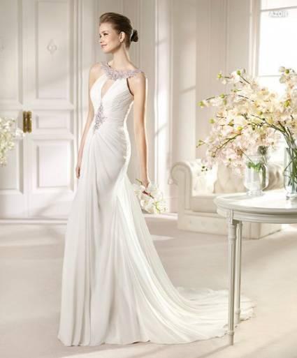 vestidos de coctel novia