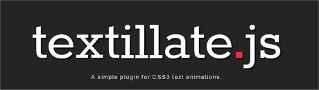 birii textillate js plugin jquery css3 animations Textillate.js Animaciones de texto usando CSS3