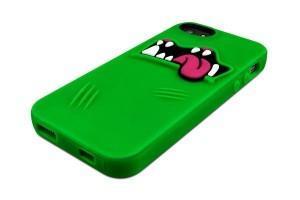 SwitchEasy Monstruo carcasa de iphone 5 de color verde