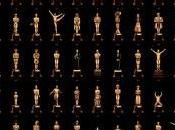 años premios Oscar reunidos póster