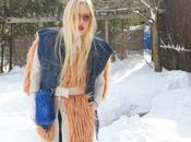 Caillianne- Denim Snow Bunny