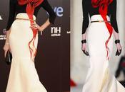 Nieves Alvarez Stéphane Rolland alfombra roja Goya