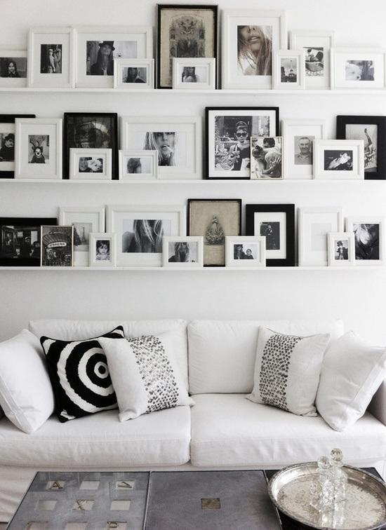 Decorar las paredes con composiciones de cuadros paperblog - Cuadros para la pared ...