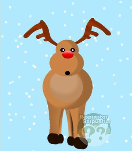 Cuántos y cuáles son los renos de Papá Noel.