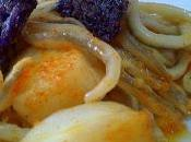 Sepia gulas crujiente patata violette!!!