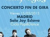 """Niños mutantes, concierto gira """"náufragos"""": madrid, marzo (sala eslava)"""